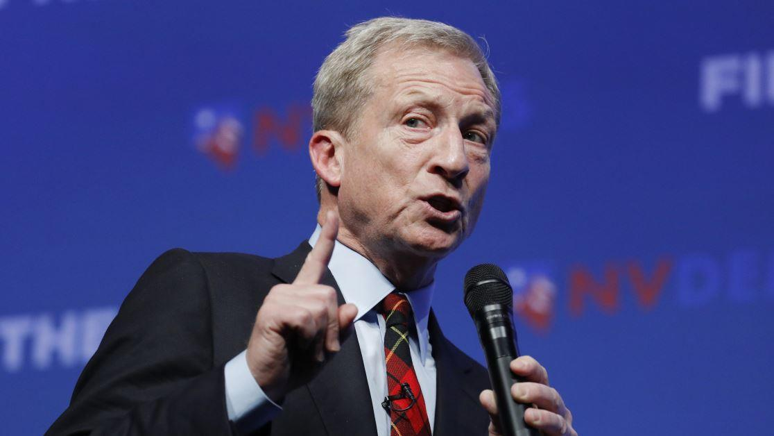 2020 Democratic candidate Tom Steyer discusses the need for the United States to address climate change, China's construction of new coal-fired power plants and what he will do to combat the threat China poses to the Earth's climate.
