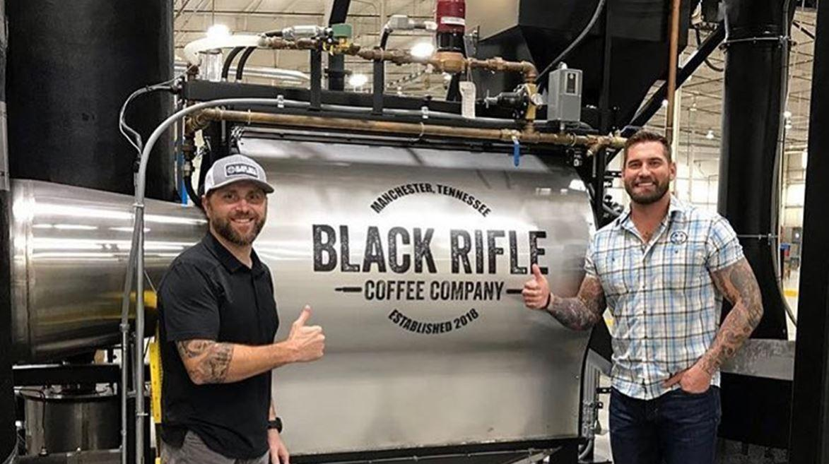 Black Rifle Coffee Company's Evan Hafer discusses the success of his coffee business and its roots in his grinding coffee beans for his fellow soldiers on the battlefield in Iraq as well as his goals for the company.