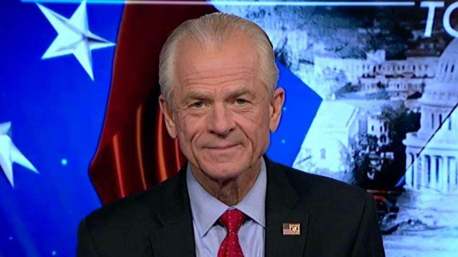 White House trade adviser Peter Navarro speaks on the U.S. economy and says trade deals could help the Dow hit 30,000.