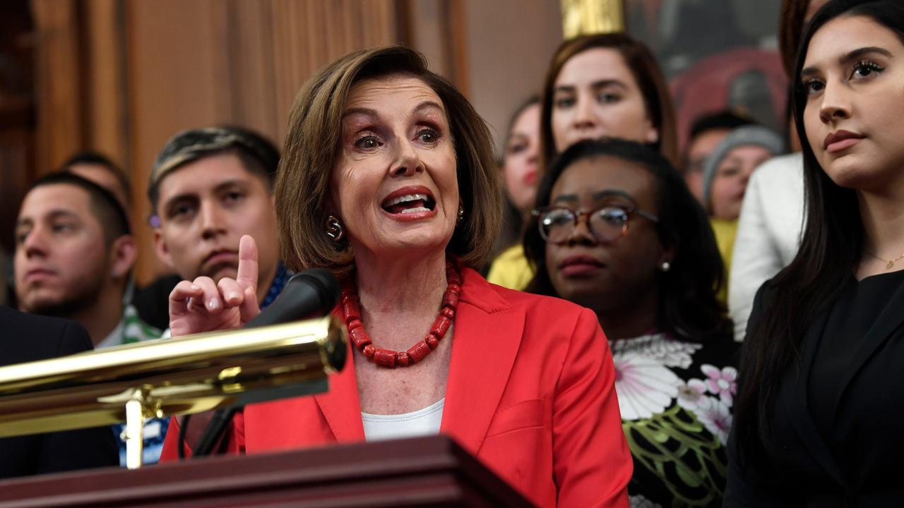 'I'd like to see us get it done this year, I mean, that would be my goal,' Speaker of the House Nancy Pelosi said about the USMCA.