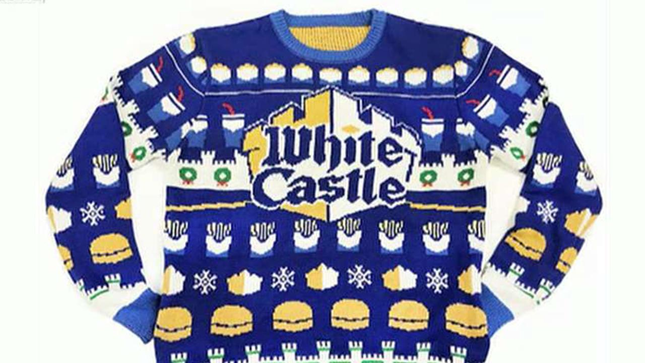 White Castle is getting into the holiday gift guide game.