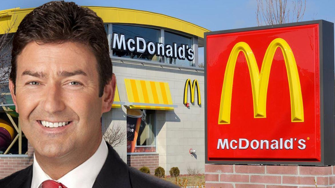 Former McDonald's CEO Steve Easterbrook will receive severance based on his roughly $1.4 million salary in one lump sum paid at the end of 6 months. FOX Business' Grady Trimble with more.