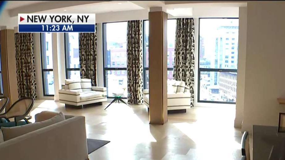 This Manhattan penthouse is on the market at the reduced price of $26 million due to NYC  tax exodus. FOX Business' Cheryl Casone with more.
