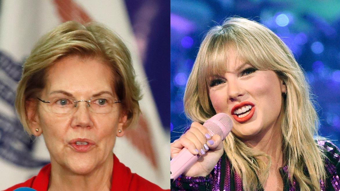 Fox News senior judicial analyst Judge Andrew Napolitano discusses Sen. Elizabeth Warren getting involved in Taylor Swift's fight with her former record company.