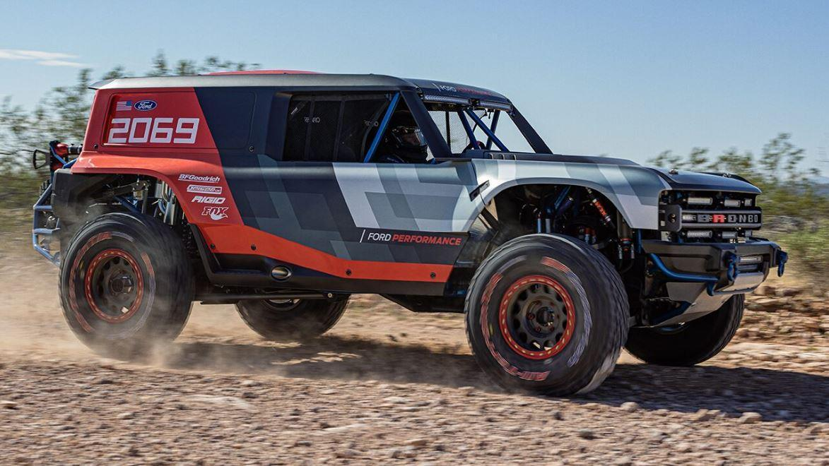 Ford has revealed a racing version of the new Bronco ahead of Mexico's Baja 1000 race. FOX Business' Lauren Simonetti with more.
