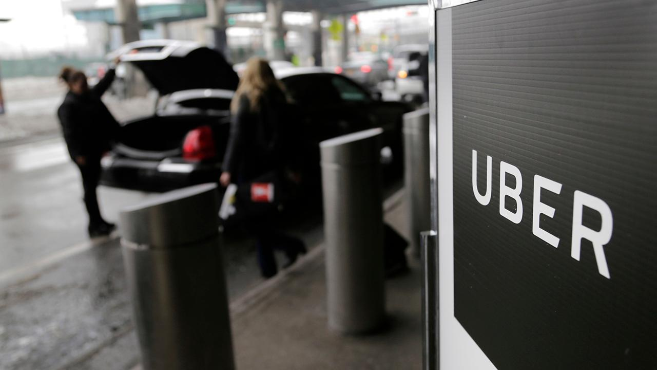 FOX Business' Susan Li discusses Uber's profitability on an earnings basis adjusted for 2021.