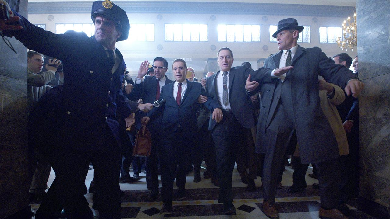 Producer of 'The Irishman' Gerald Chamales talks about how great of a partner Netflix has been and Fox News contributor Jonathan Morris talks about how he asked them to change the script to be more realistic.
