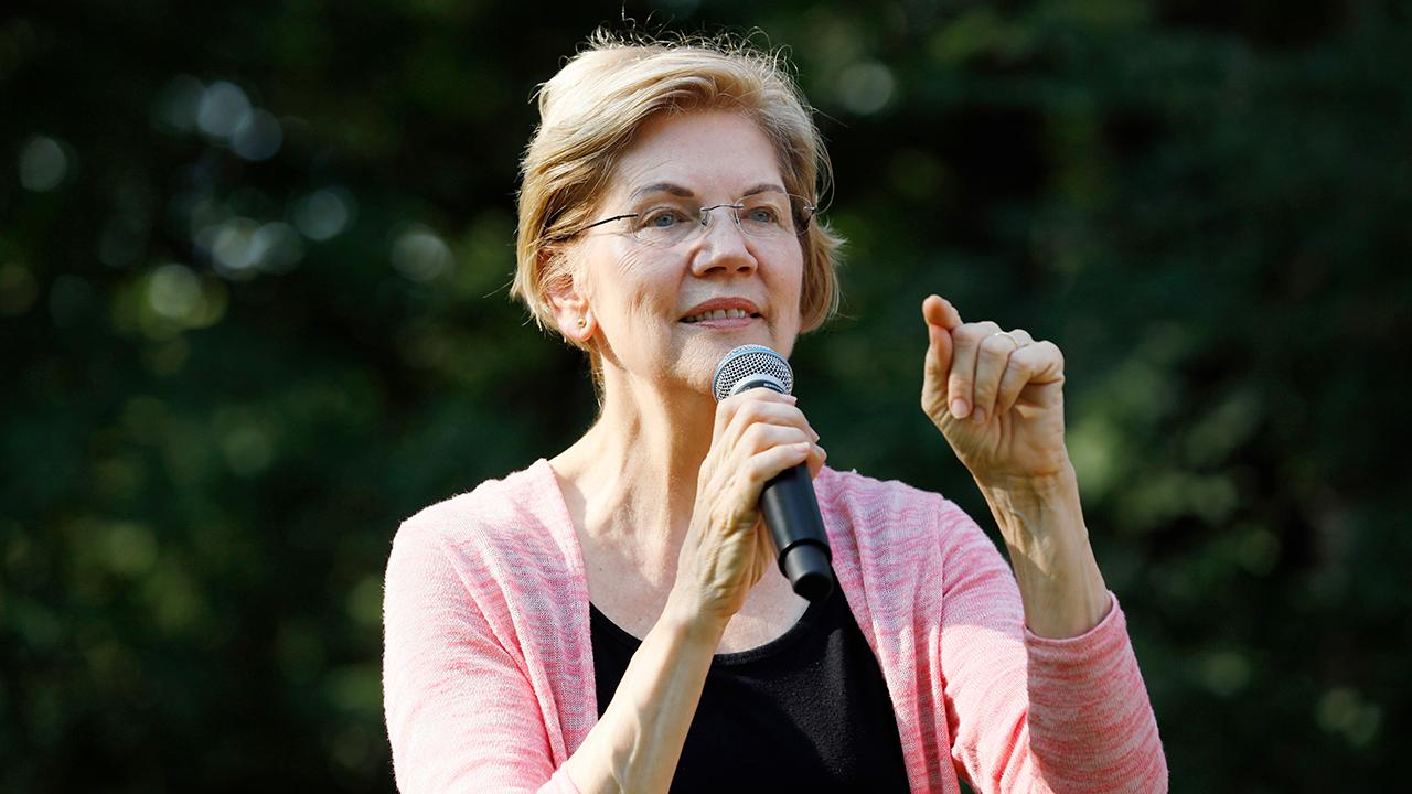 FOX Business' Kennedy criticizes Sen. Elizabeth Warren's campaign against billionaires.
