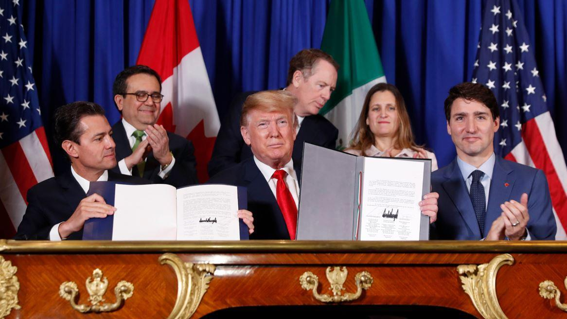 President Trump discusses the benefits the USMCA will have for American workers and efforts to pass the agreement through the House.