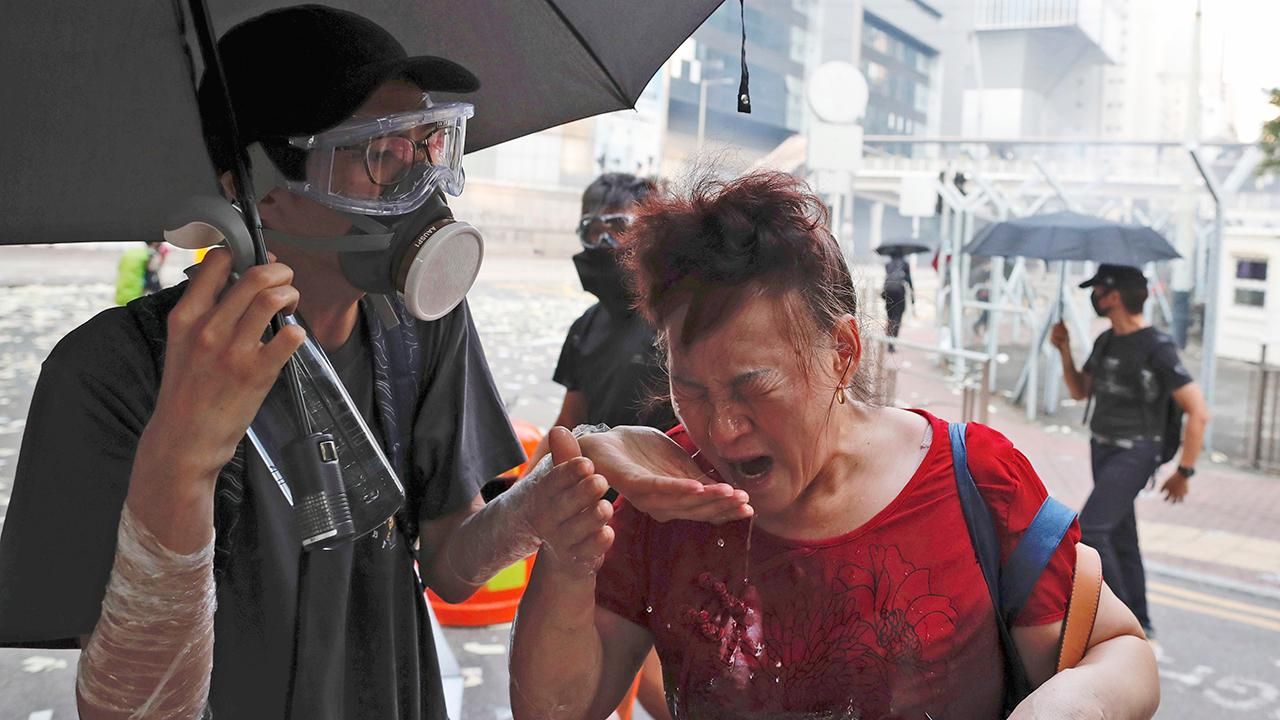 Tiananmen Square survivor Rose Tang describes the violent assaults the Chinese government and Hong Kong police are inflicting on the Hong Kong protesters.