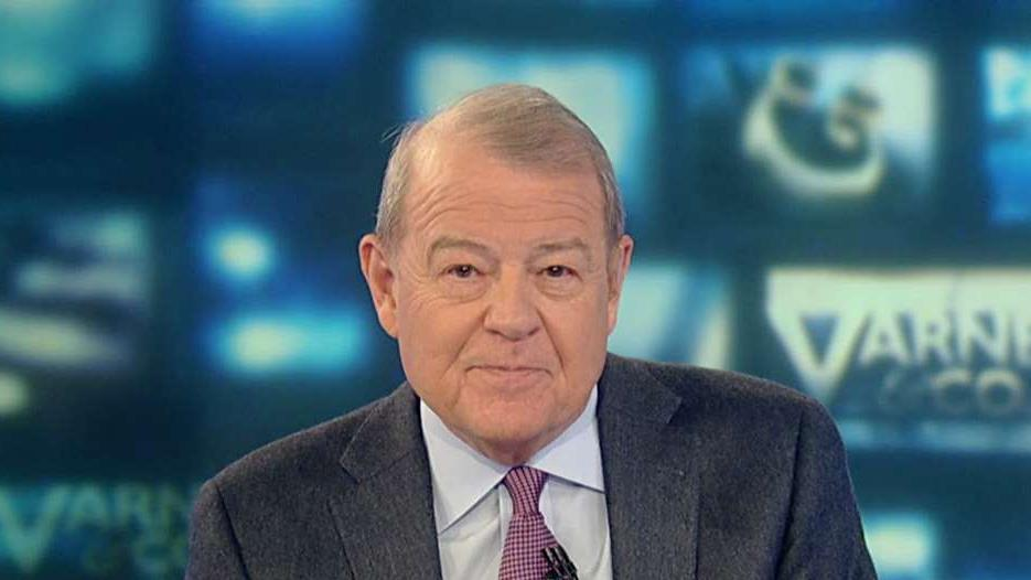 FOX Business' Stuart Varney on President Trump's visit to Apple's new factory in Texas and the need for Trump and CEO Tim Cook to partner for China trade negotiations.