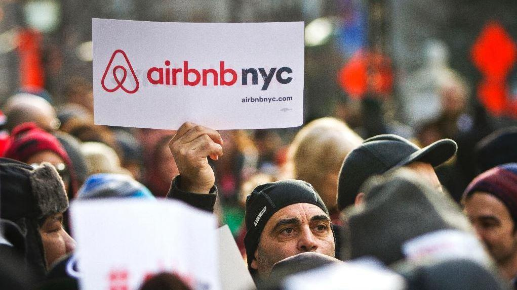 Manhattan Venture Partners' and early Airbnb investor Santosh Rao discusses Airbnb's ban on party houses, working with regulators to catch tax dodgers, and the company's operational profitability.