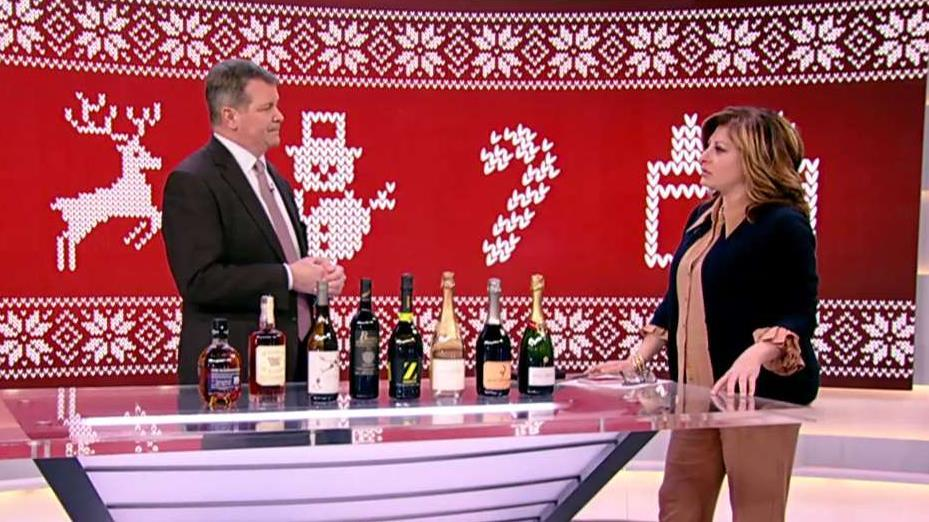 Sherry-Lehmann CEO Chris Adams discusses his company's top drink picks for the holidays and the impact tariffs are having on consumer pricing for liquor.