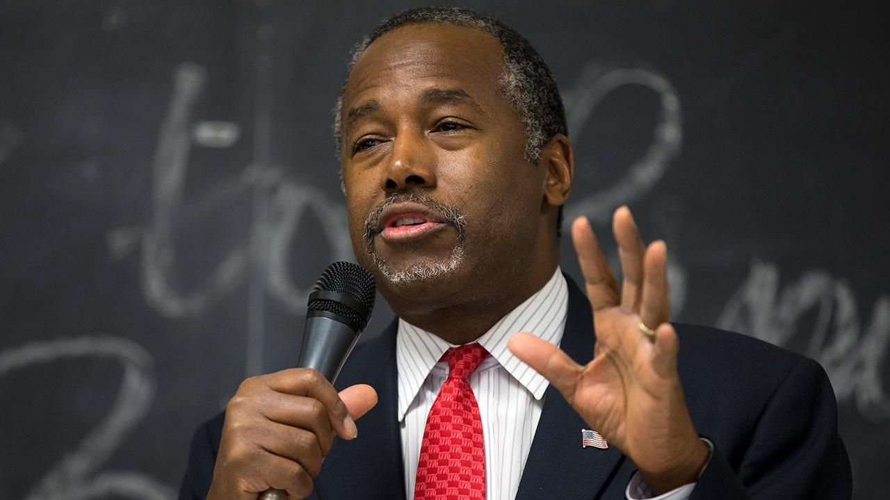 Secretary of Housing and Urban Development Ben Carson says while the federal government is willing to help, solving the homelessness crisis in California is the responsibility of the local government.