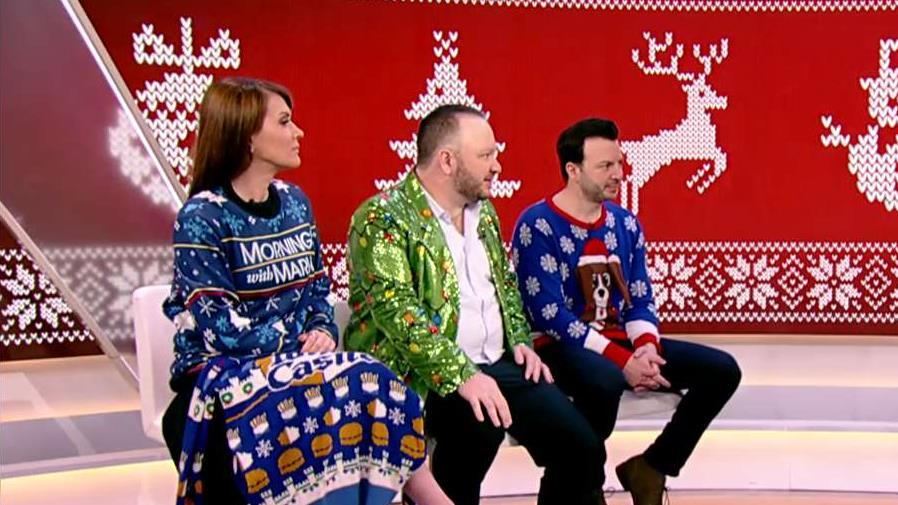 UglyChristmasSweaters.com co-founders Mark and Fred Hajjar discuss their line of ugly Christmas sweaters.