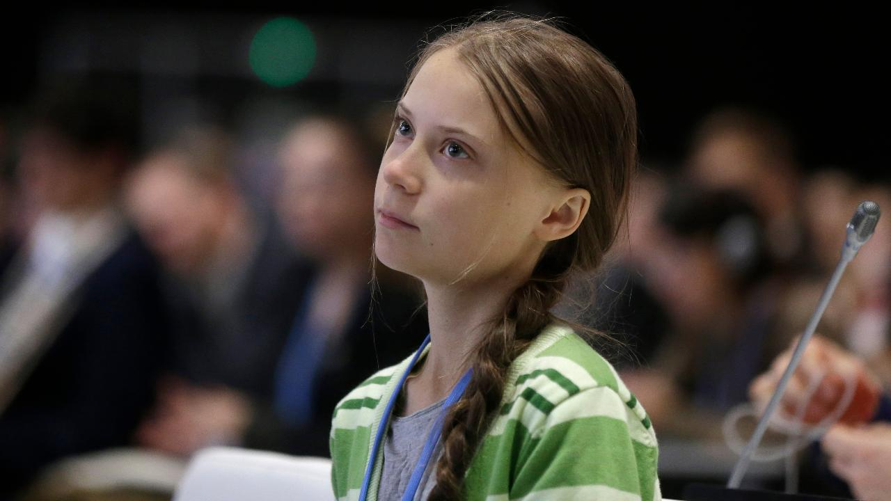 TIME magazine named teen climate activist Greta Thunberg person of the year.