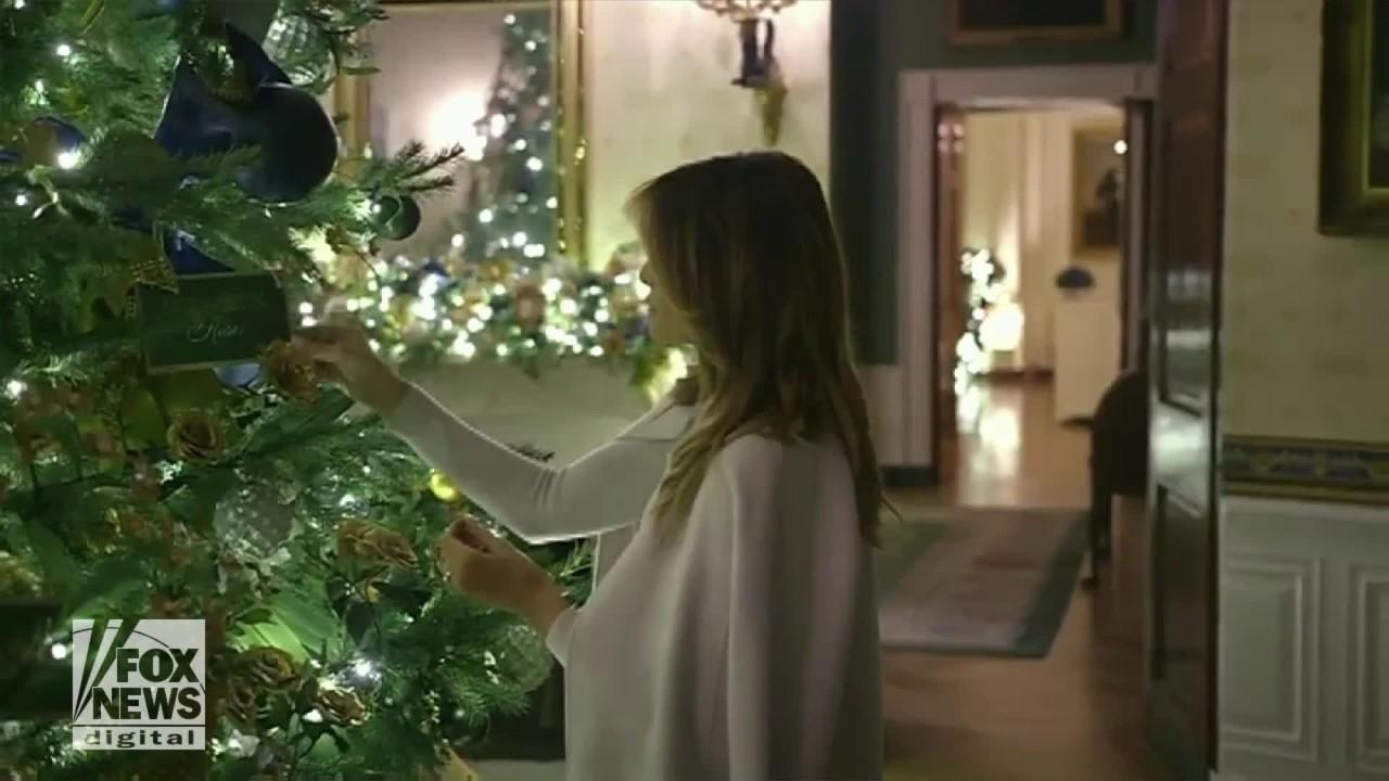 Melania Trump paid special attention to detail when decorating the White House for Christmas.