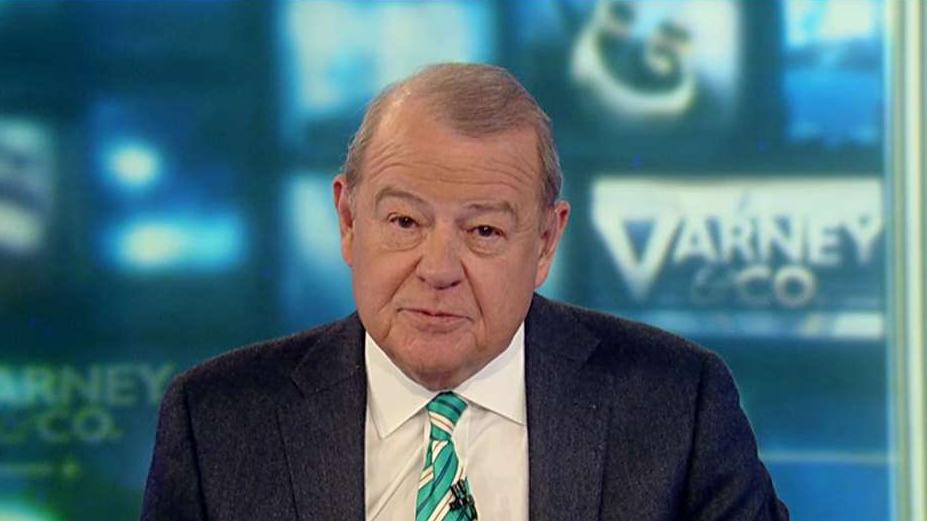 FOX Business' Stuart Varney on the market's positive view of President Trump given 2020 Democratic candidates and despite impeachment.