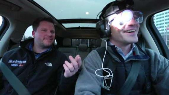 FOX Business' Grady Trimble takes Ford's hangover simulation suit for a test drive.