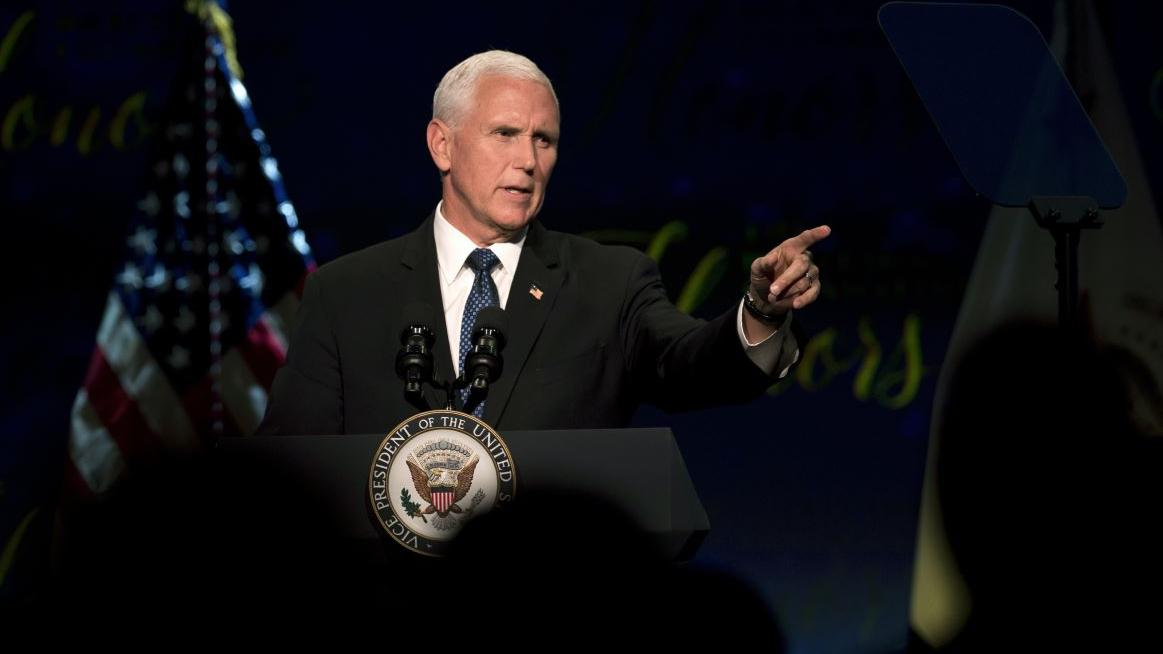 Vice President Mike Pence discusses President Trump's willingness to use tariffs to benefit the American worker.