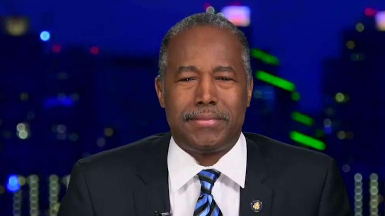 Secretary of Housing and Urban Development Ben Carson weighs in California's homelessness crisis and how the federal government should get involved.