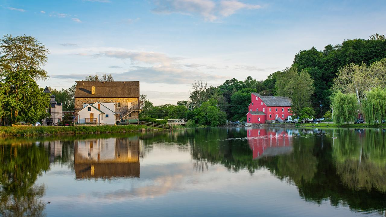 Clinton, New Jersey, in known as a destination for scenic hiking, kayaking and fishing, only 50 miles from NYC.