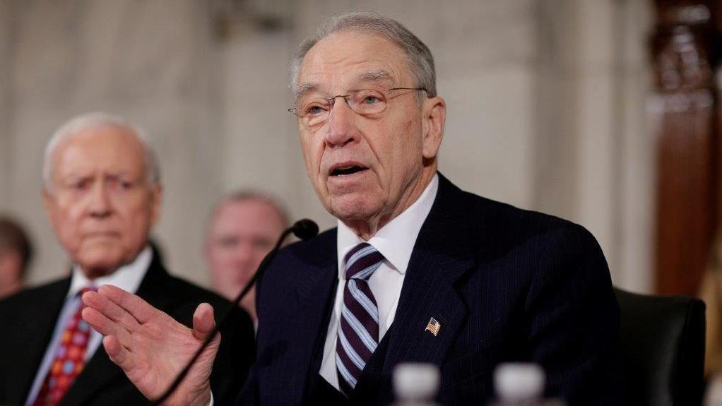 Grassley, R-Iowa, discusses the updated USMCA deal and China trade talks.