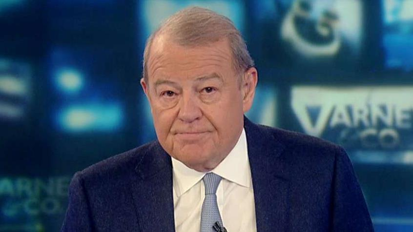 FOX Business' Stuart Varney on the president's visit to London and the contrast of impeachment.