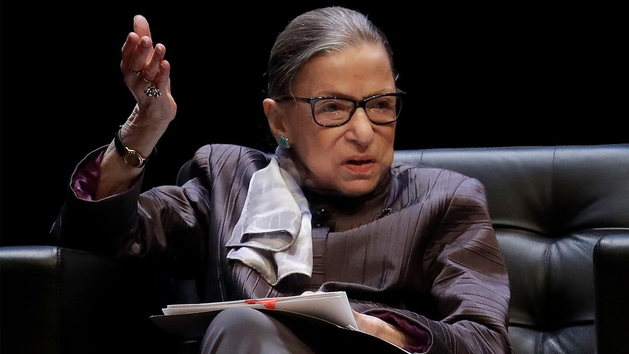 Supreme Court Justice Ruth Bader Ginsburg has put a hold on the ruling requiring President Trump to hand over his financial records to Congress.