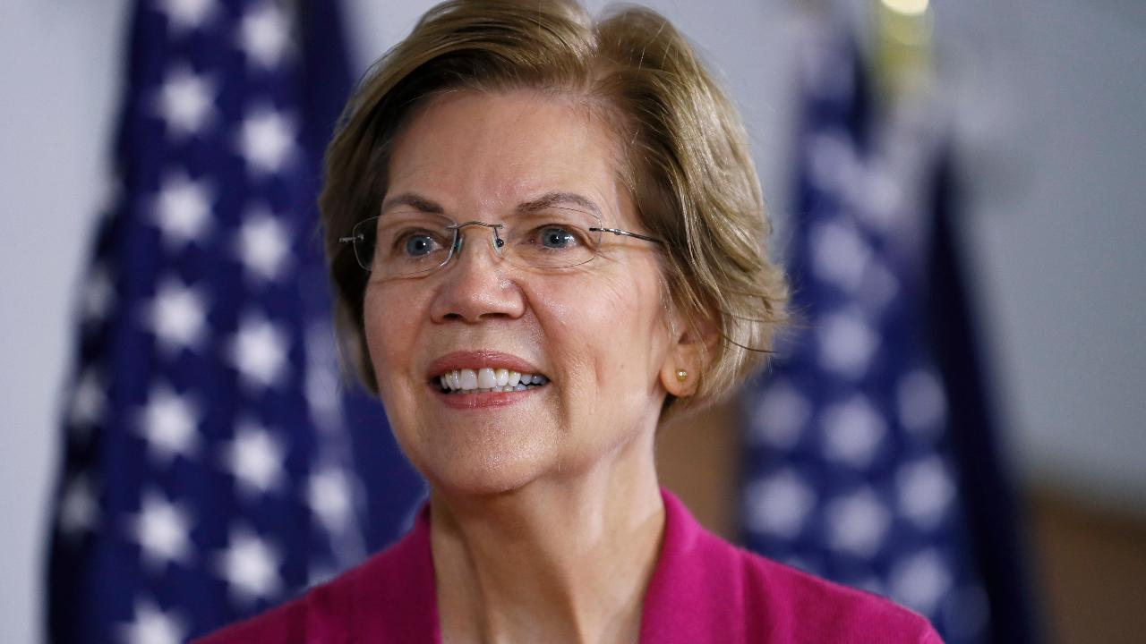 Former CKE Restaurants CEO Andy Puzder explains why Elizabeth Warren is slipping in the polls.