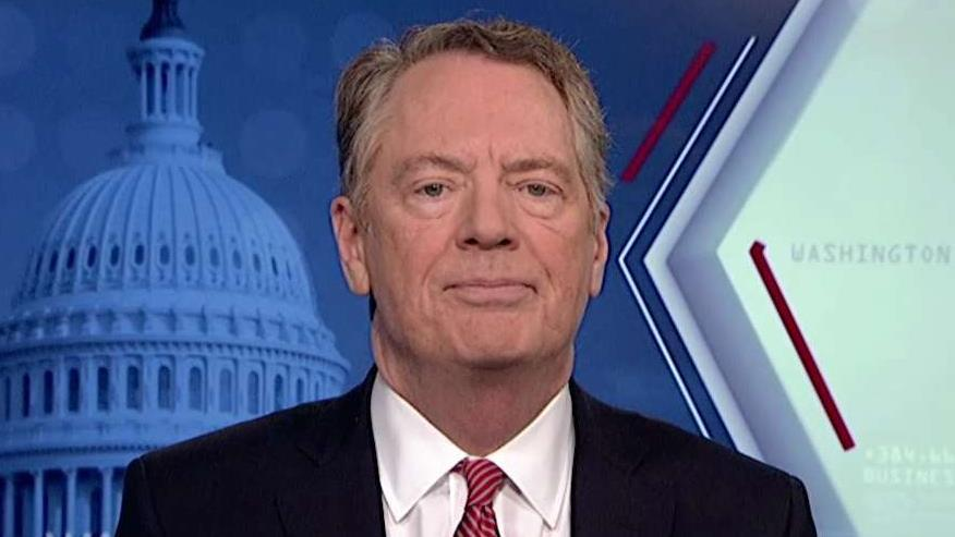 U.S. trade representative Robert Lighthizer discusses how the USMCA will increase GDP and create jobs.