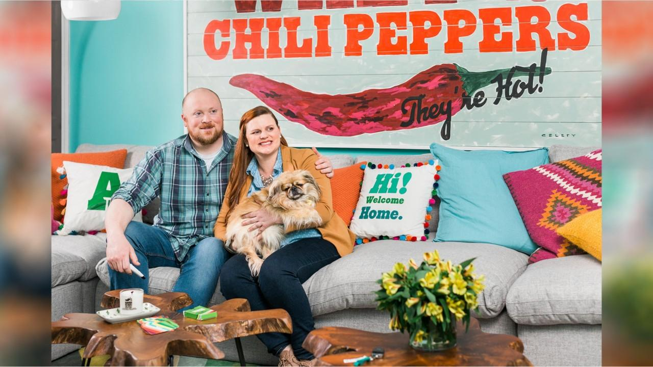 The Arnetts were delighted to learn they had won Chili's contest for a $30,000 home makeover.