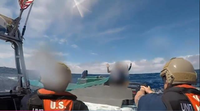 The U.S. coast guard seized 18,000 pounds of cocaine, estimated at $312 million, off the San Diego coast.