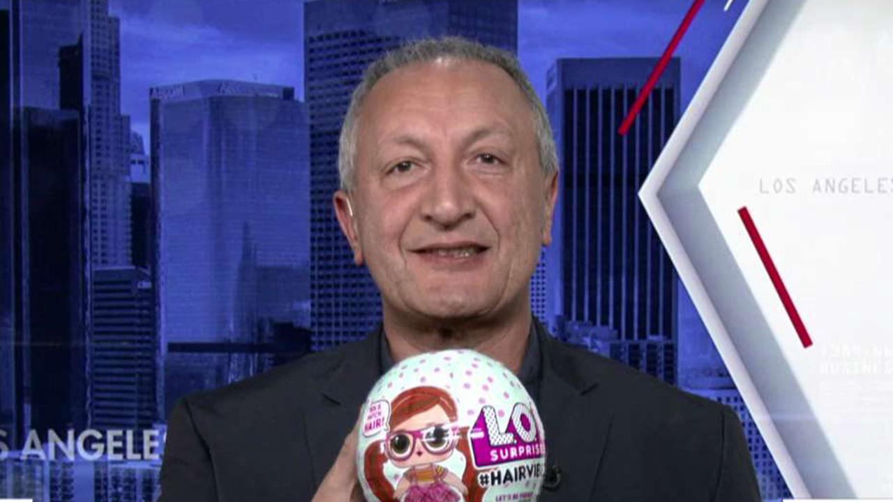MGA Entertainment CEO Isaac Larian discusses the success of L.O.L. Surprise! dolls and accessories this holiday shopping season and says the company is looking to make an acquisition in 2020.