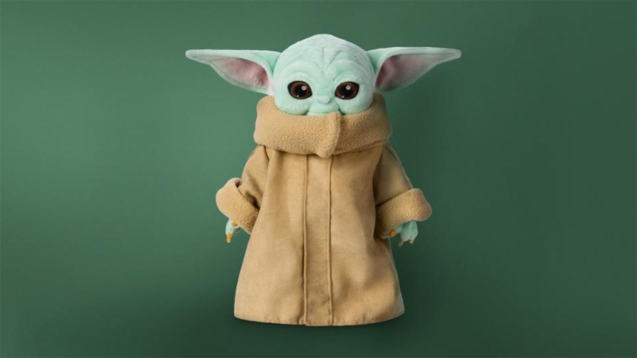 FOX Business' Kristina Partsinevelos discusses Disney finally selling its officially licensed Baby Yoda toy.