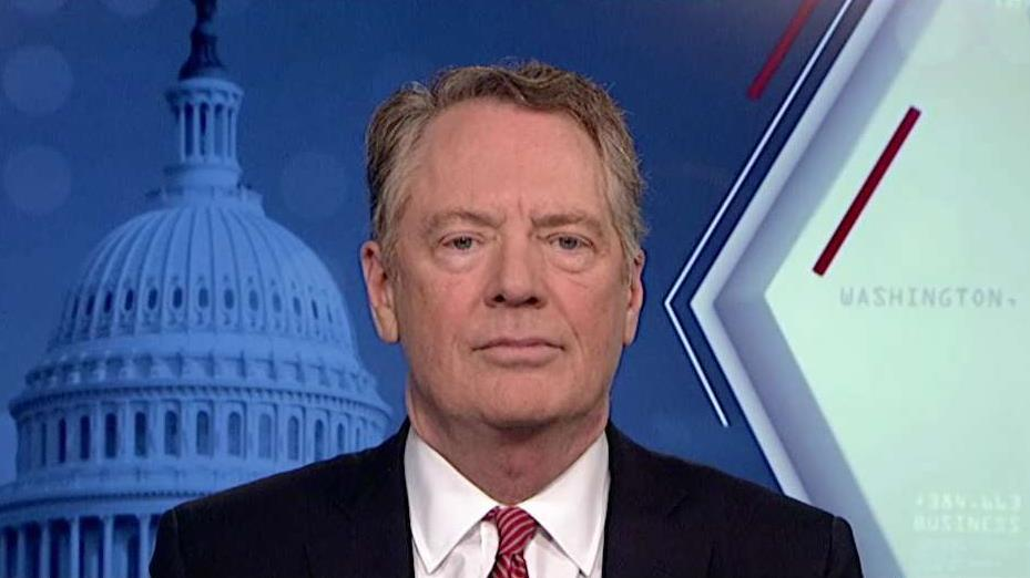 U.S. Trade Representative Robert Lighthizer discusses the trade deals President Trump intends to pursue and the Boeing-Airbus case litigated by the WTO.