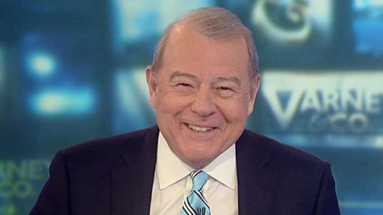 FOX Business' Stuart Varney on how Nancy Pelosi's impeachment meeting was a 'charade' compared to the celebration of the US-China trade deal signing.