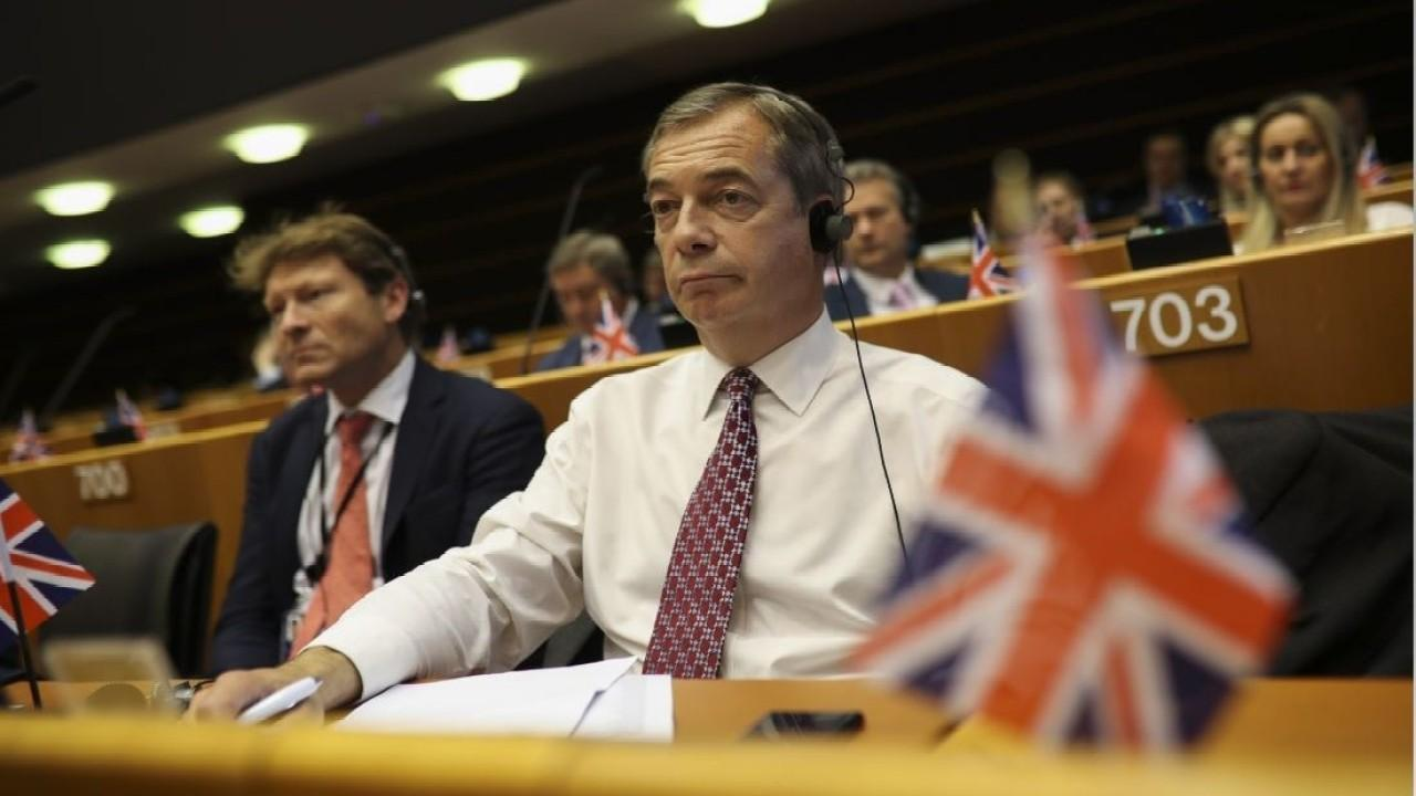 'Leave Means Leave' Vice Chairman Nigel Farage reacts to Britain exiting the European Union.