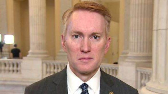 Sen. James Lankford, (R-Okla.), discusses the layers of the USMCA and the next steps of the U.S.-China trade deal including human rights in China.
