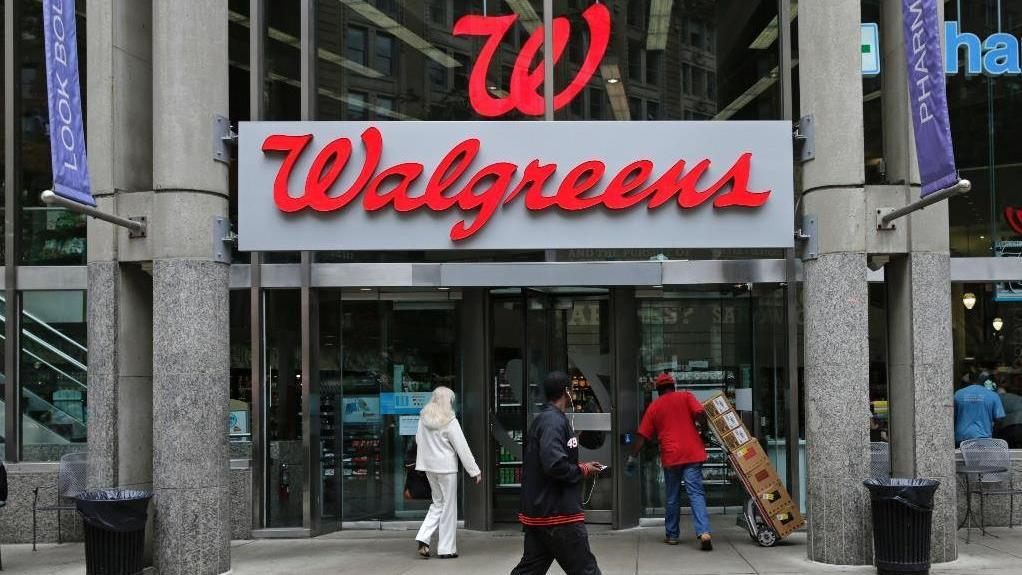 FOX Business' Deirdre Bolton reports on how Walgreens shares are trading down as the company faces retail pressure and lower revenue from insurance companies.