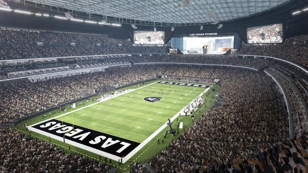 Cox Communications president Pat Esser says fans will have a 'very unique experience' when visiting the new NFL Raiders' Allegiant Stadium in Las Vegas, Nevada.