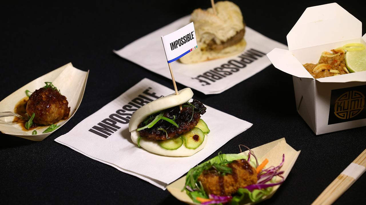 Impossible Foods CEO and founder Pat Brown discusses the popularity of the Impossible Burger and his company's new plant-based foods.