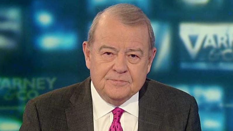 FOX Business' Stuart Varney on Trump delivering an address of strength in Davos while the impeachment trial continues.