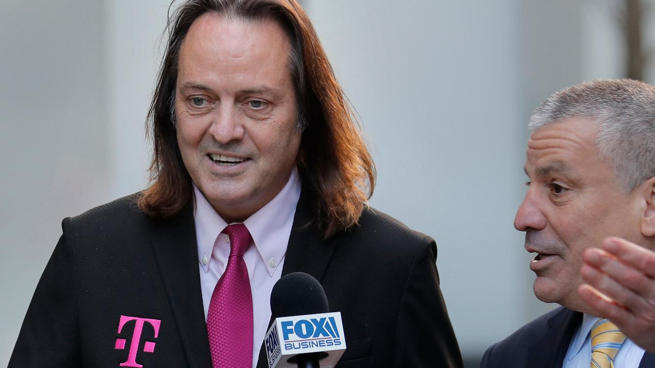 FOX Business' Charlie Gasparino says T-Mobile CEO John Legere feels confident that the State AG's will lose their case to break up the contested T-Mobile/Sprint merger.