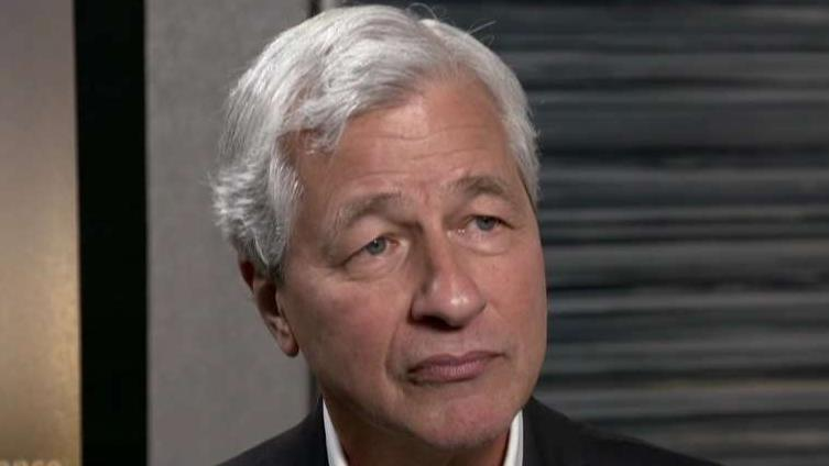 JP Morgan CEO Jamie Dimon responds to Business Roundtable comments and Elizabeth Warren.