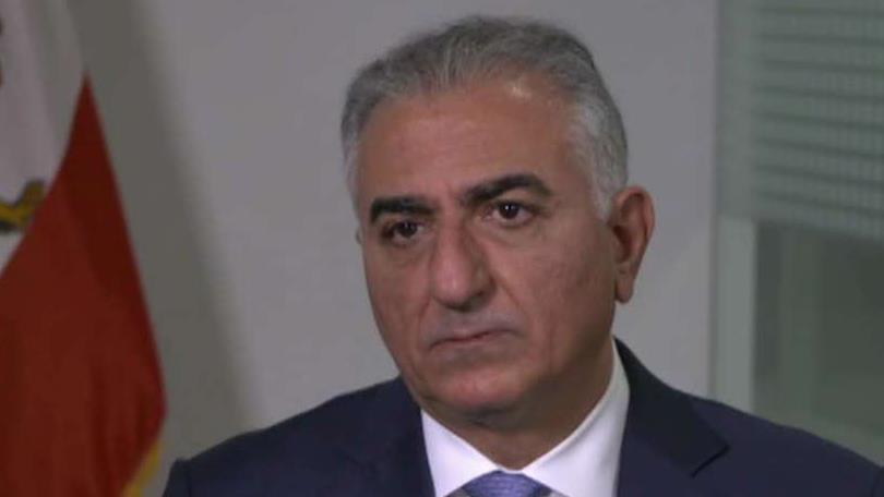 Former Iranian Crown Prince Reza Pahlavi, during a FOX Business exclusive with Jackie DeAngelis, discusses tensions in Iran.