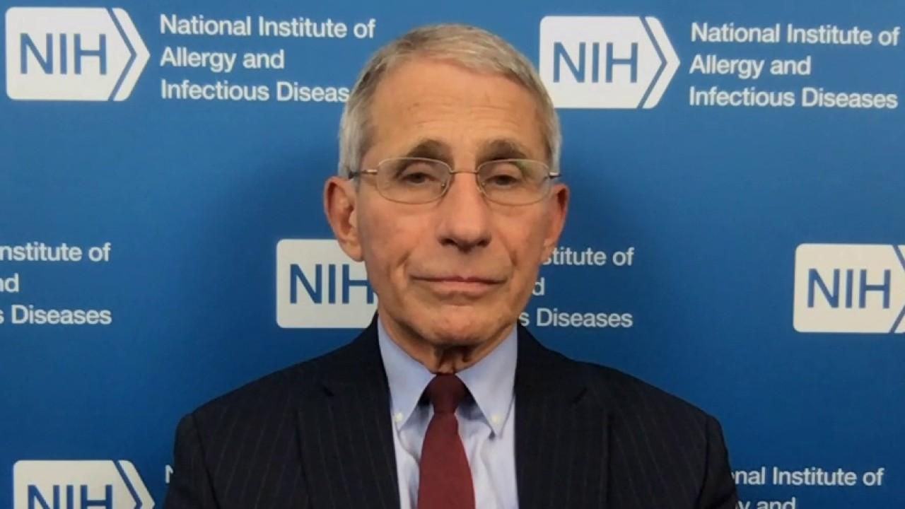 National Institution of Allergy and Infectious Diseases director Dr. Anthony Fauci discusses the spread of the coronavirus.