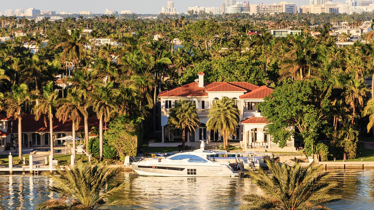 Luxury real estate specialist Katrina Campins discusses the booming housing market in Miami, Florida, and the luxury properties available.