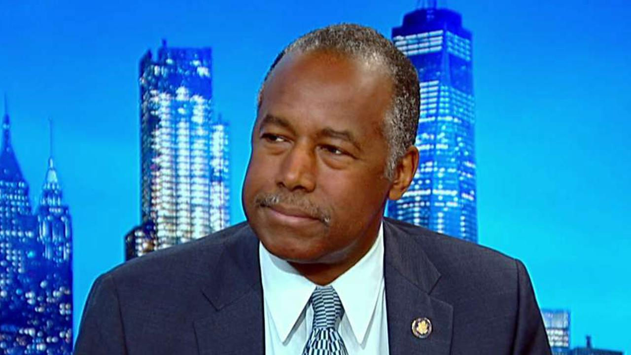 Housing and Urban Development Secretary Ben Carson discusses income inequality, 2020 Democratic candidates, job numbers and the U.S. economy.