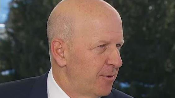 Goldman Sachs CEO David Solomon discusses the state of the IPO market, the global economy, consumer banking and DJing at the Sports Illustrated Super Bowl party.